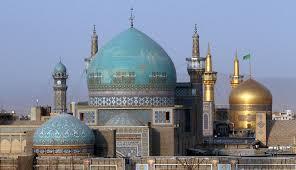 سروهای فیروزه ای مشهد